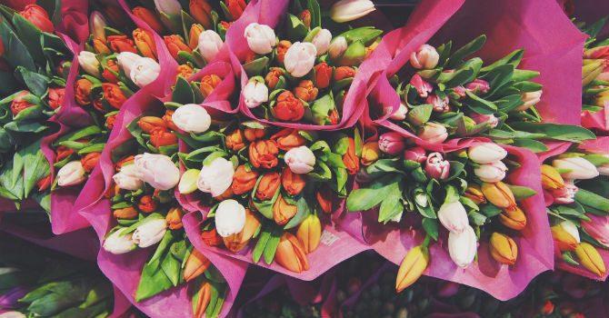 Morsdagspresenter blommor