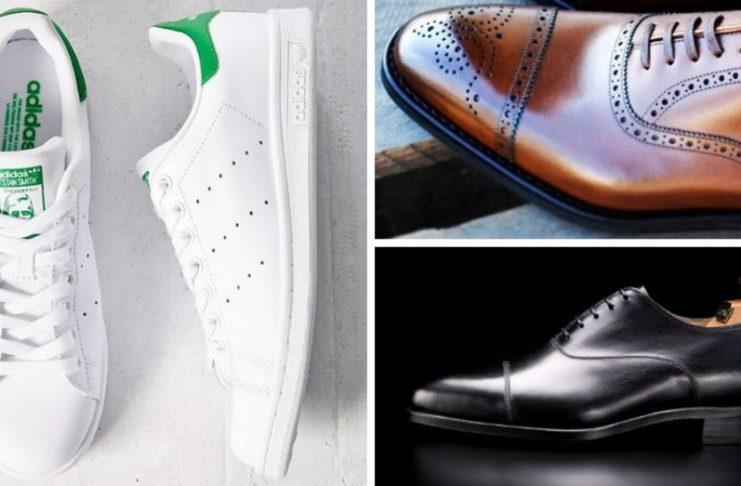 Sneakers till Kostym Nästa stora trend?