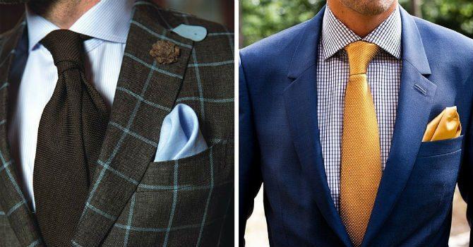 skall pochetten matcha slipsen eller skjortan