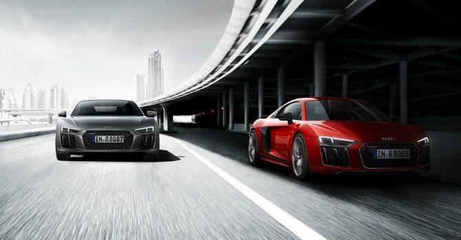Audi R8 2016 610hp
