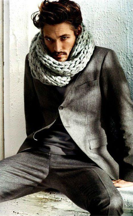 infinity halsduk scarf till kavaj