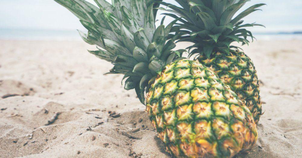 Hur Skär Man En Ananas