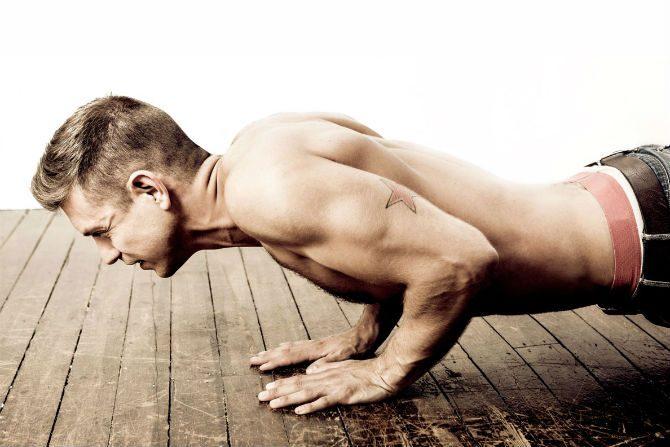 träna på lunchen kroppsvikt