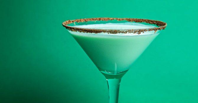 hur blandar man en grasshopper drink