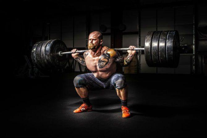 Framgång Och Manlighet muskler