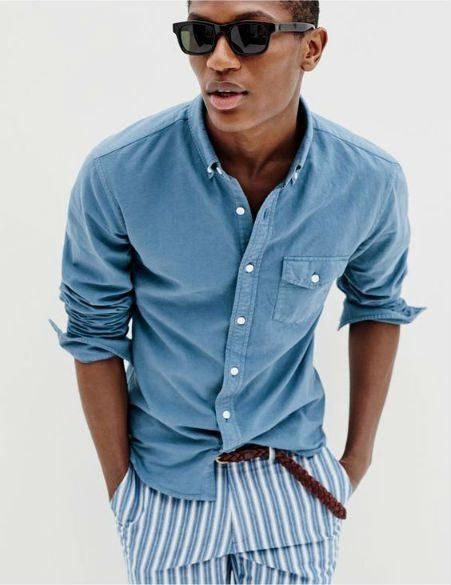 button down skjorta snygga stilar