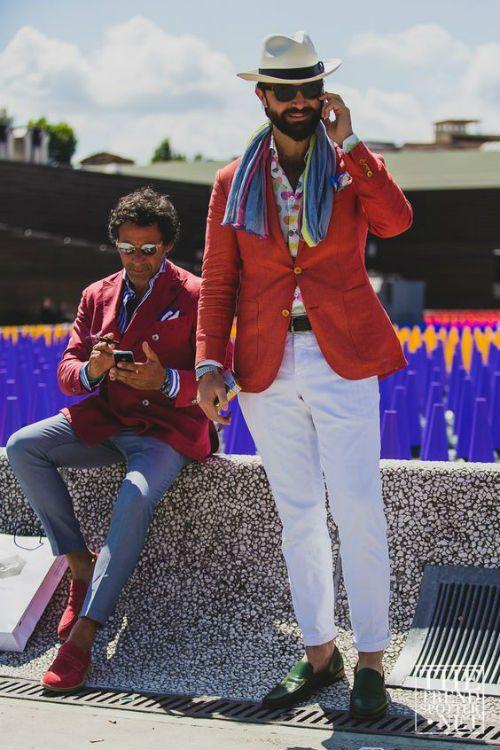 färgglada kläder matcha