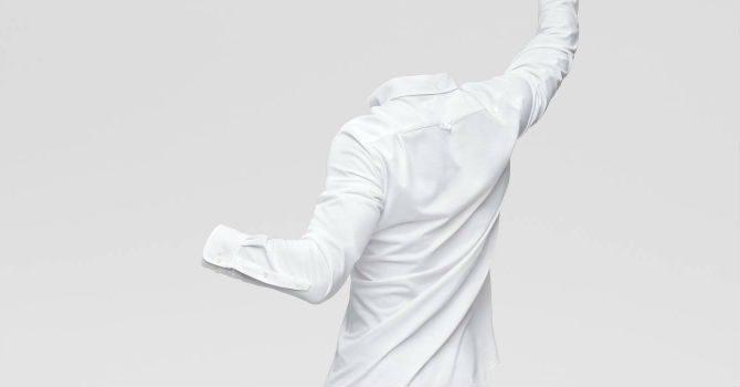 GANT tech prep vit skjorta