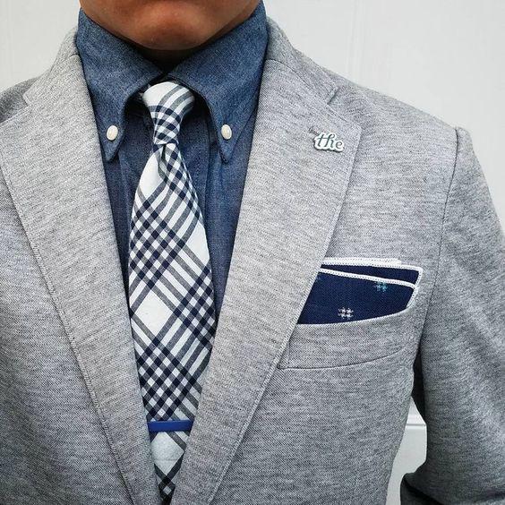 Färger Som matchar Grått och marinblått