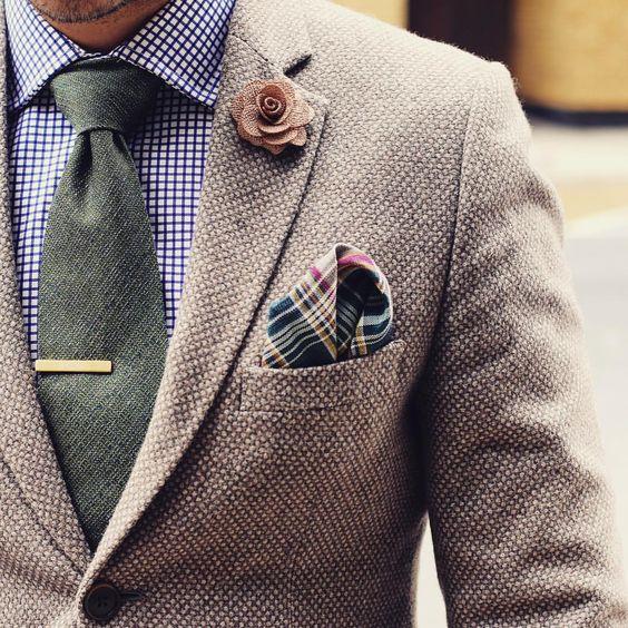 klassiska herr-accessoarer slips