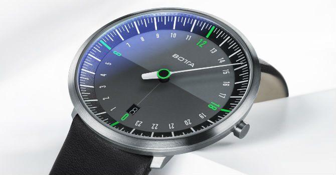 24-Timmars-Klocka botta design uno24