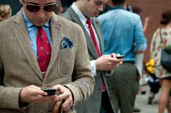 matcha klädmaterial tweed
