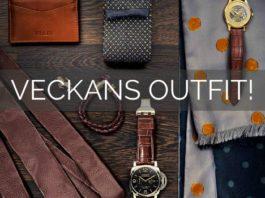 veckans outfit herr mode stil