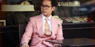 bära rosa som man