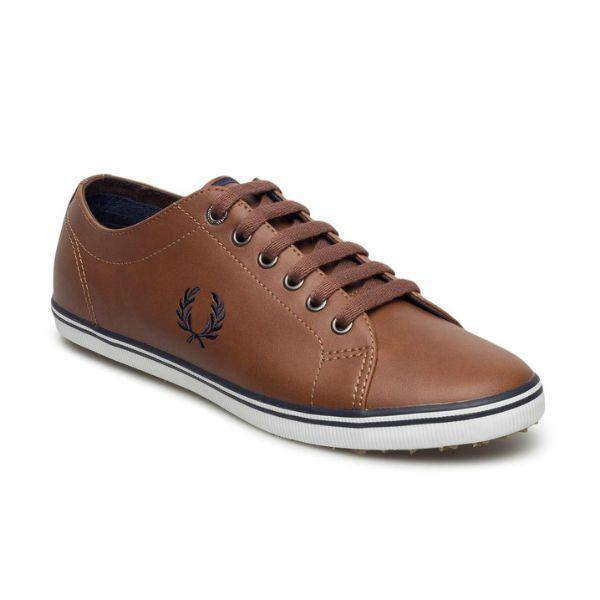 bruna sneakers skinn fred perry herr 2017