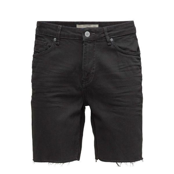 svarta jeans shorts herr 2017