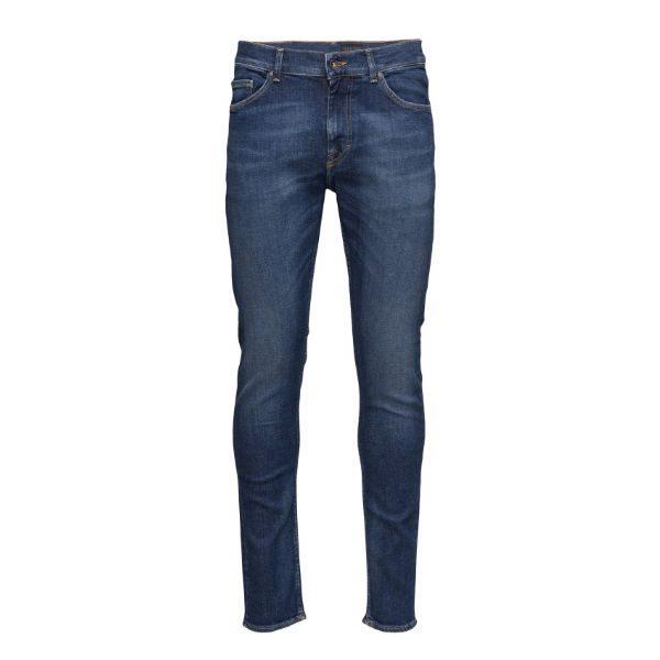 blå jeans slim herr 2017