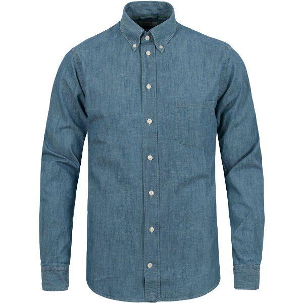 blå jeansskjorta 2017 herr