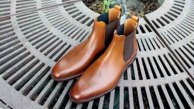 chelsea boots vinterskor till kostym