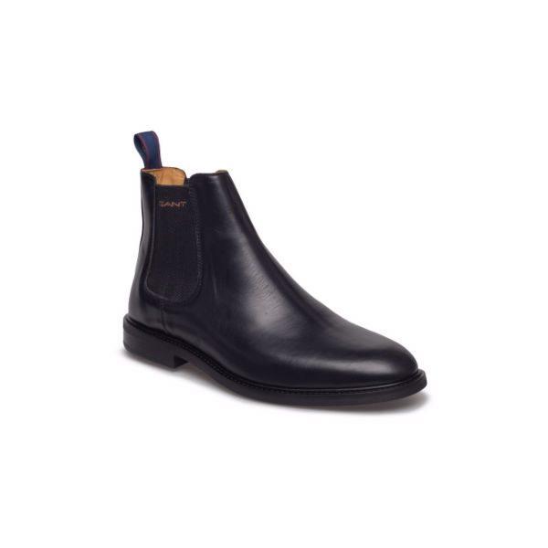 svarta chelsea boots herr gant