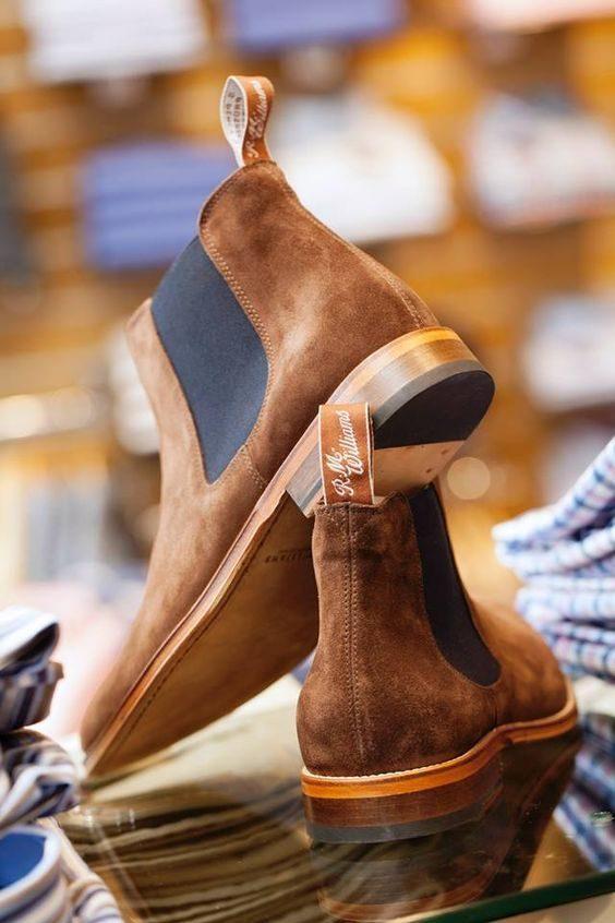 tidlösa klädesplagg chelsea boots