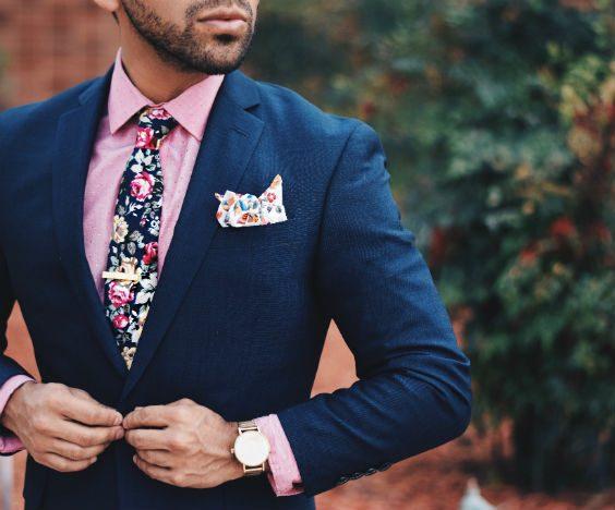 färger som passar till rosa marinblå