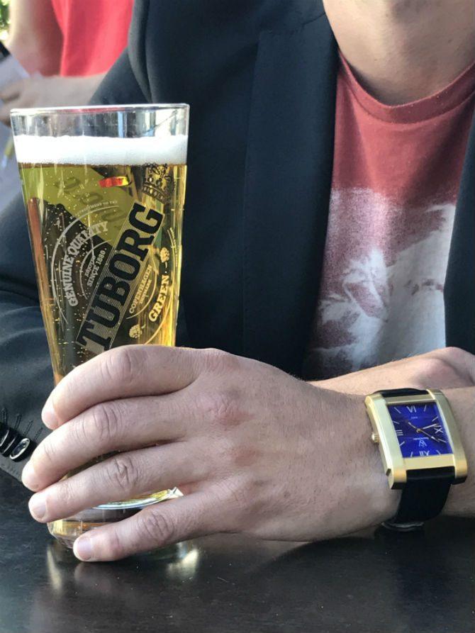 klocka för fest krogrunda pub