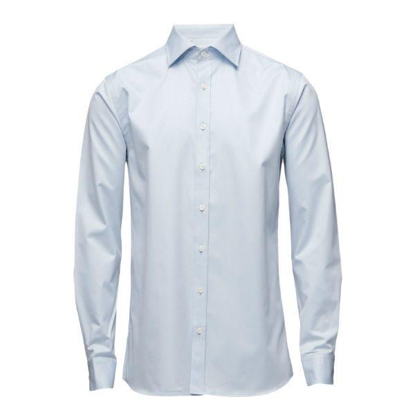 ljusblå skjorta oscar jacobson herr vinter 2017
