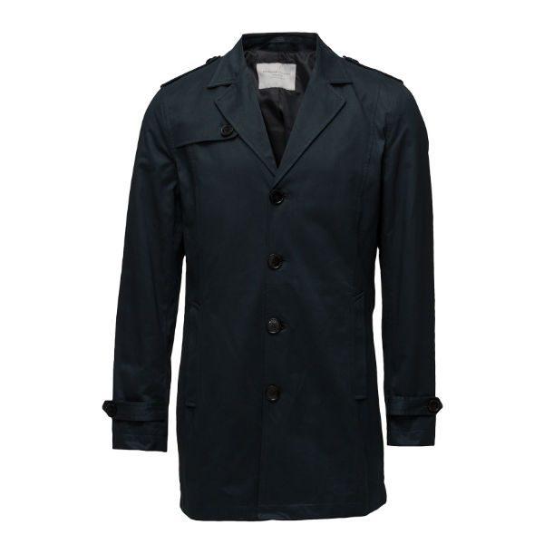 marinblå trench coat herr 2017