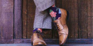 Färgade Strumpor Till Kostym
