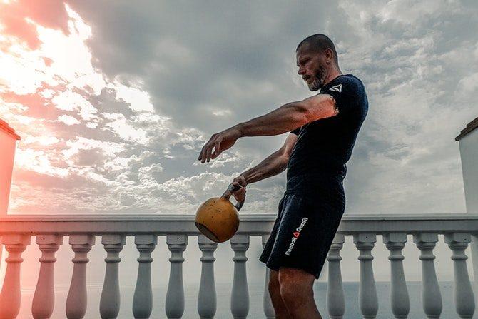 se synliga resultat av träning