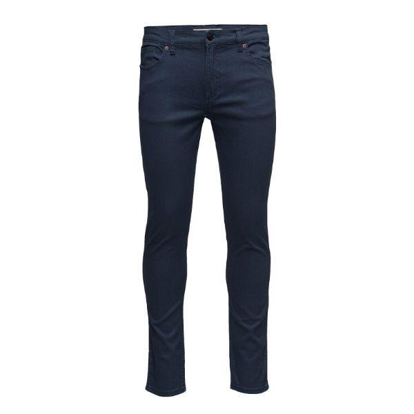 blå jeans mango man herr 2018