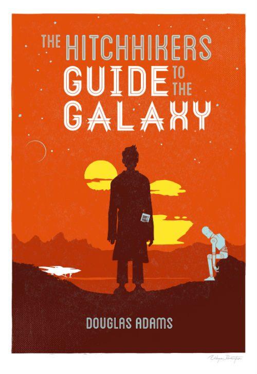 böcker man måste läsa liftarens guide till galaxen