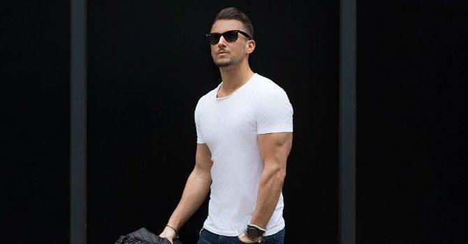 kläder som framhäver muskler