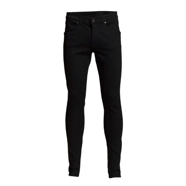 tighta svarta jeans tiger herr vinter 2018
