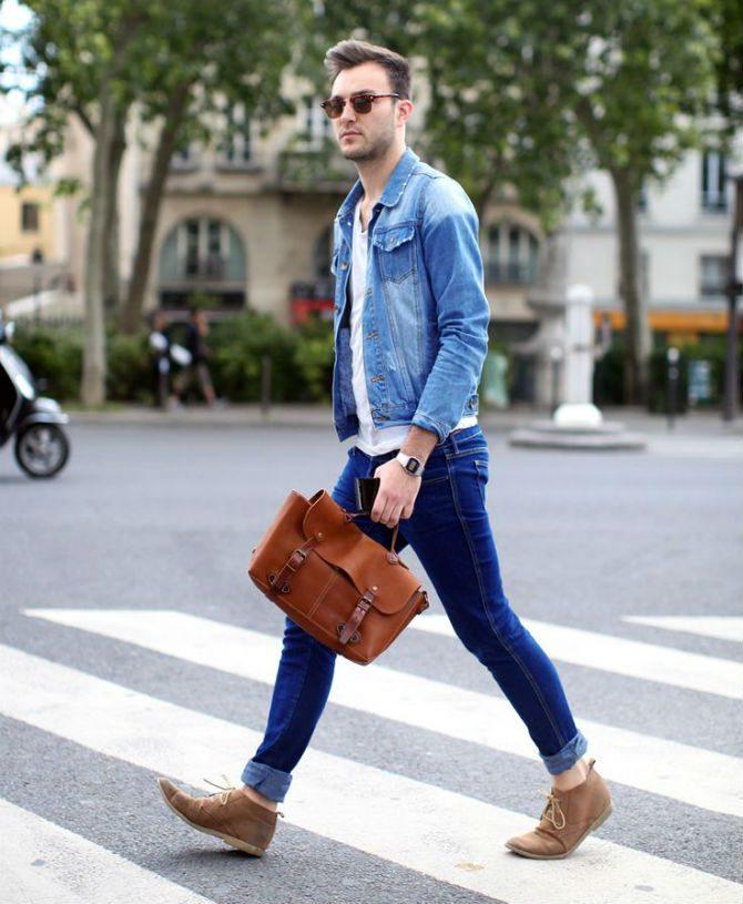vårjackor för män jeansjacka