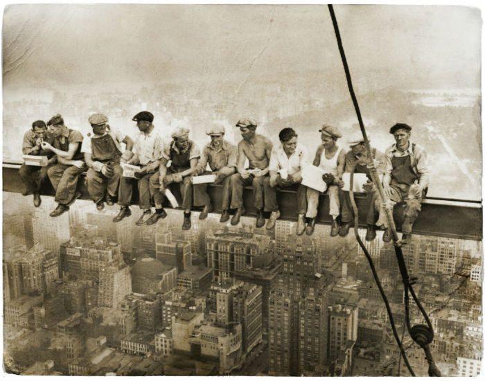 men at work bild new york gubbkeps