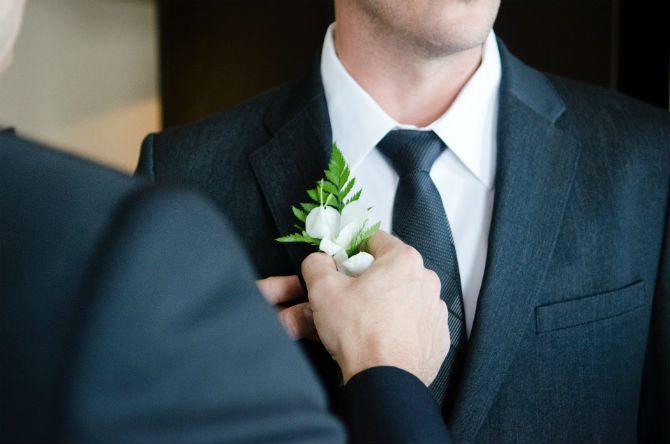 Gäst På En Begravning blomma