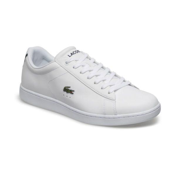 vita lacoste sneakers herr sommar 2018