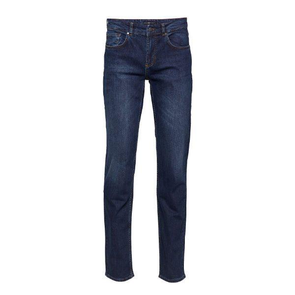 blå jeans slim herr höst 2018