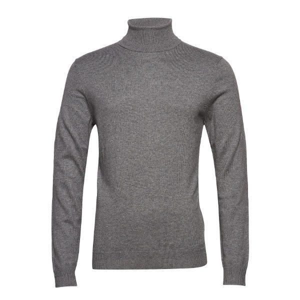 grå polo herr höst 2018