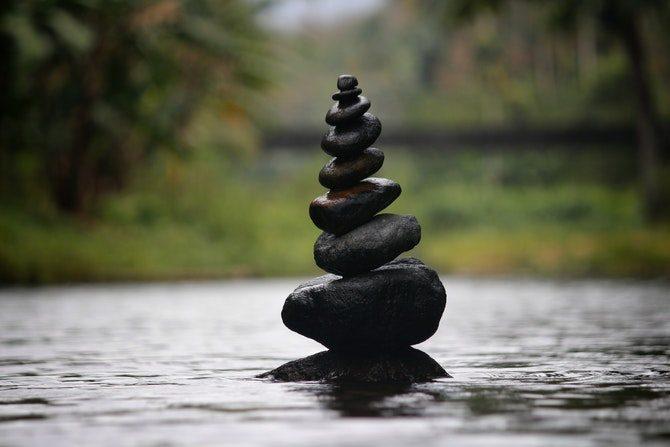 hålla sig lugn när man blir stressad koppla av
