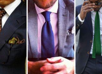 Matcha slips med skjorta och kostym