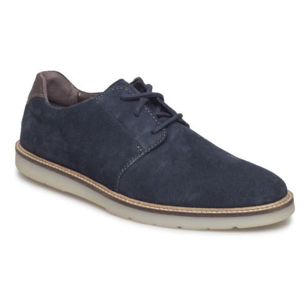 blå skor i mocka herr höst 2018