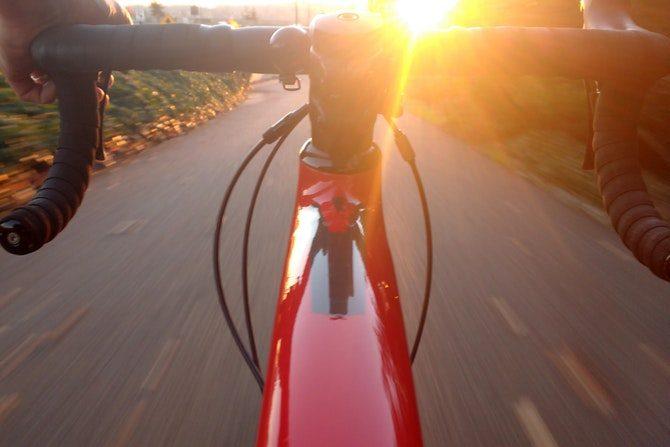 cykel till jobbet