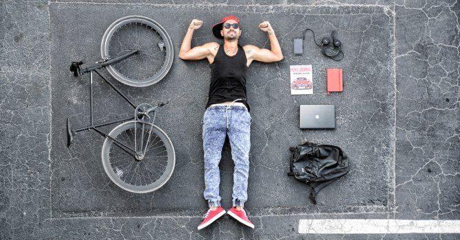cykla till jobbet