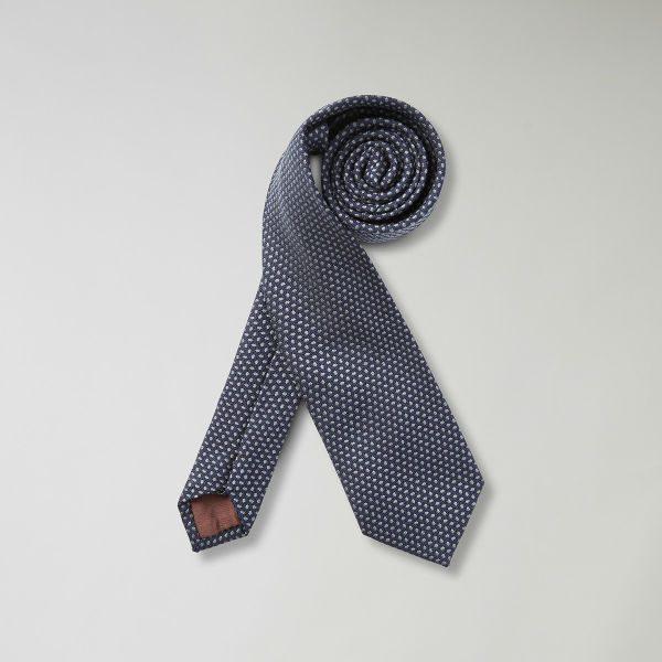prickig blå slips höst herr 2018