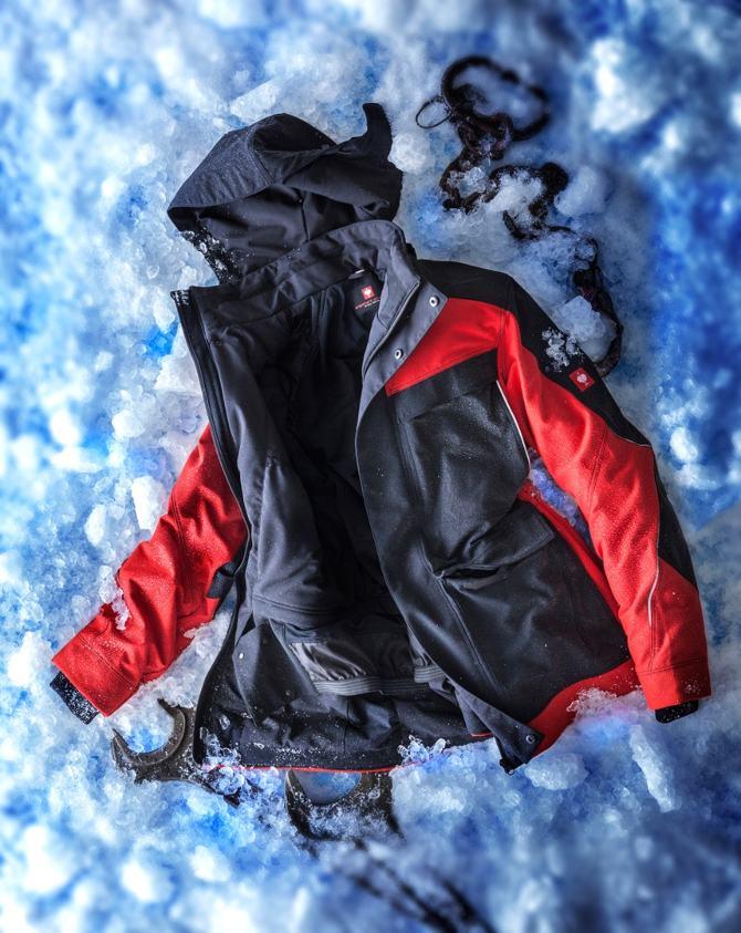varma vinterkläder jacka