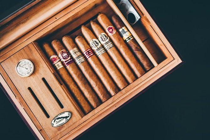 humidor cigarr