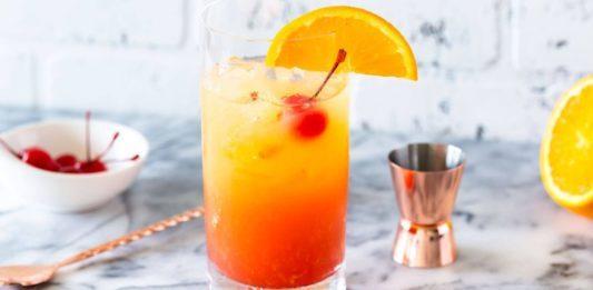 Tequila Sunrise drink recept